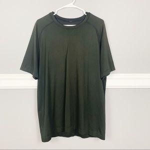 Lululemon Black Men's Short Sleeve Shirt